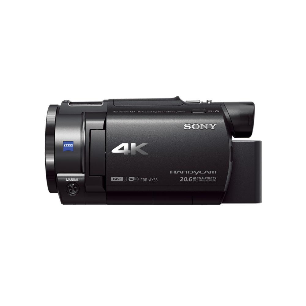 720bd24acd Handycam® 4K AX33 con sensor Exmor CMOS R® | Sony Store México - Sony Store  Mexico