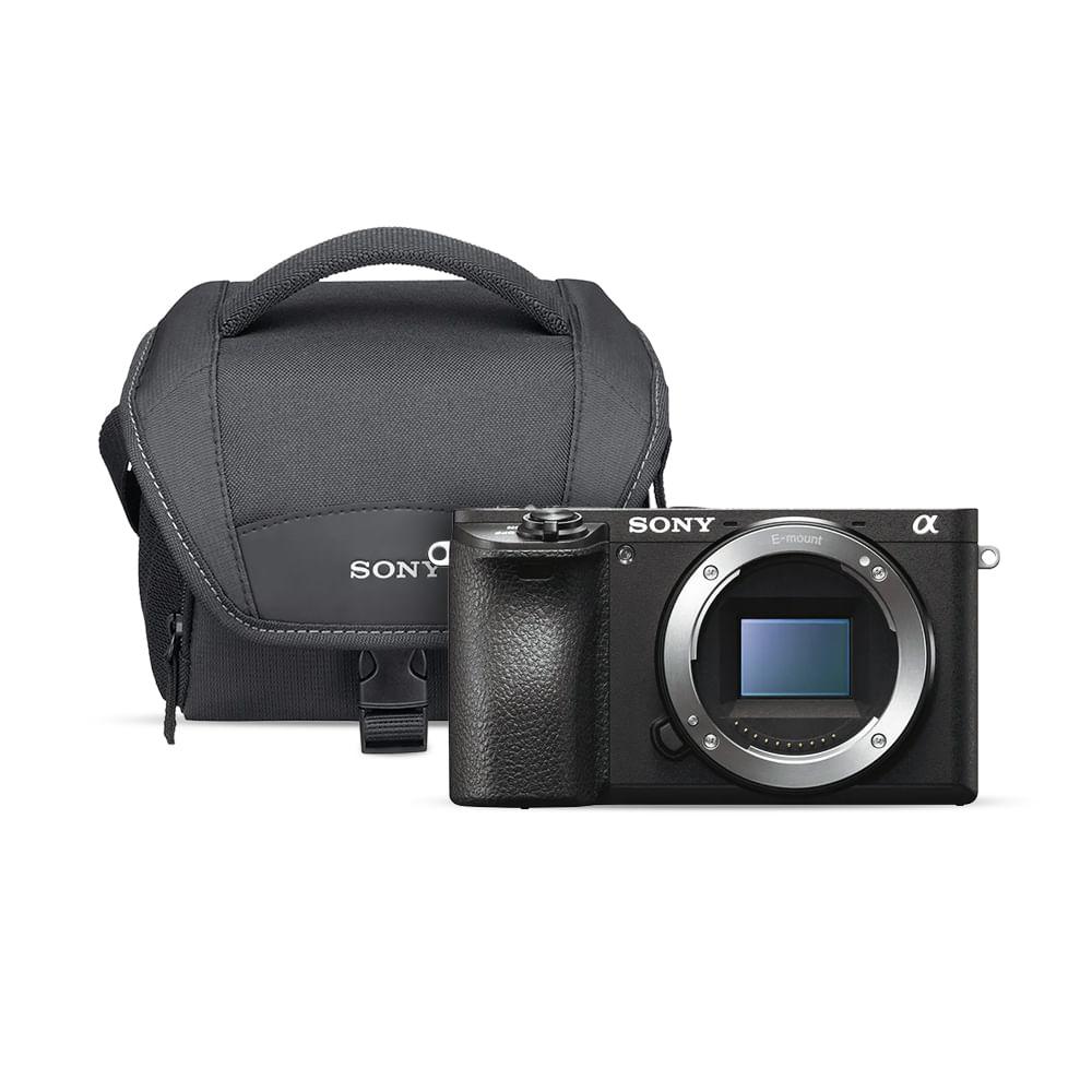 039f0cac3d KIT: Cámara APS-C a6500 premium con montura E+Bolsa transporte blanda para  videocámara LCS-U11 - Sony Store Mexico